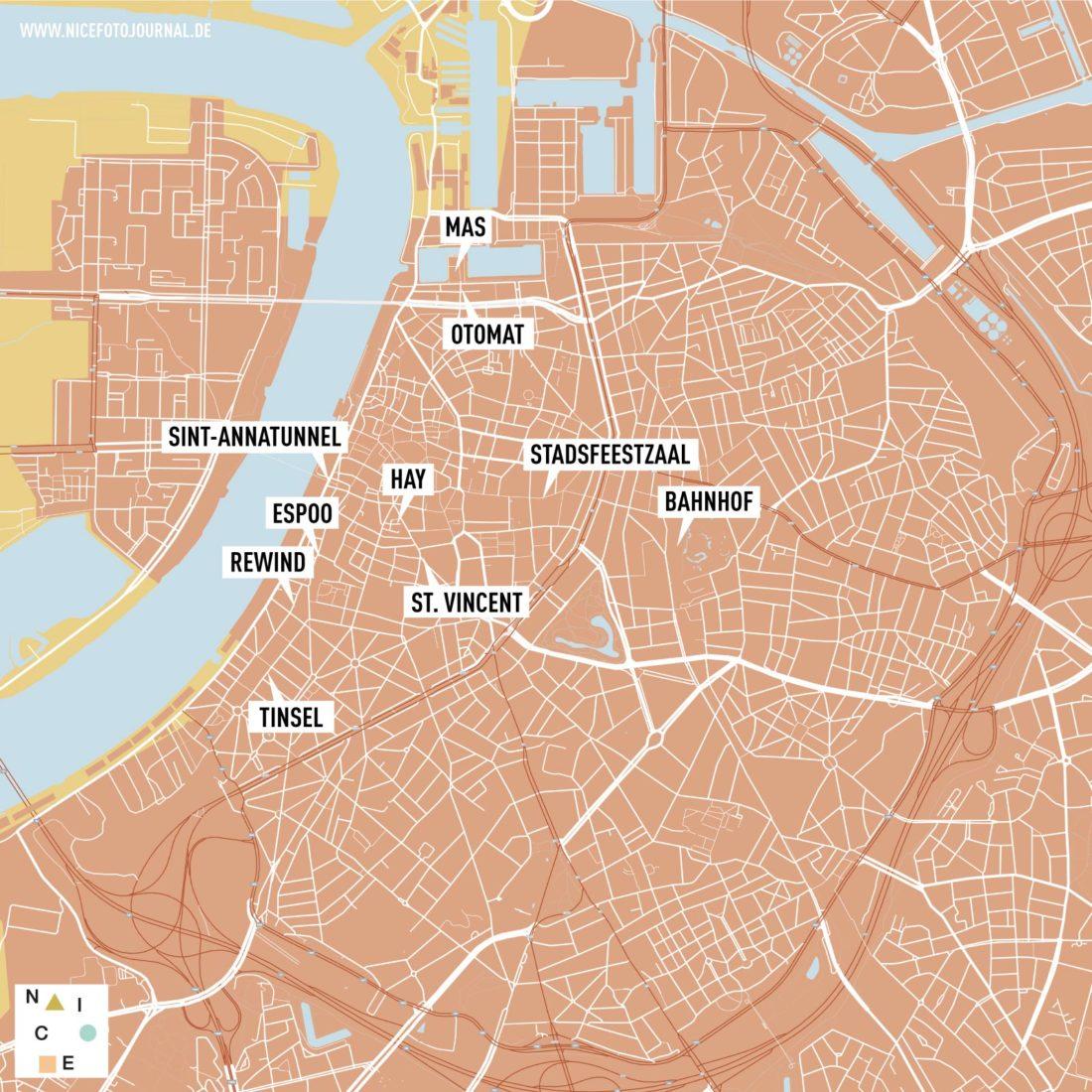 Karte Antwerpen Tipps