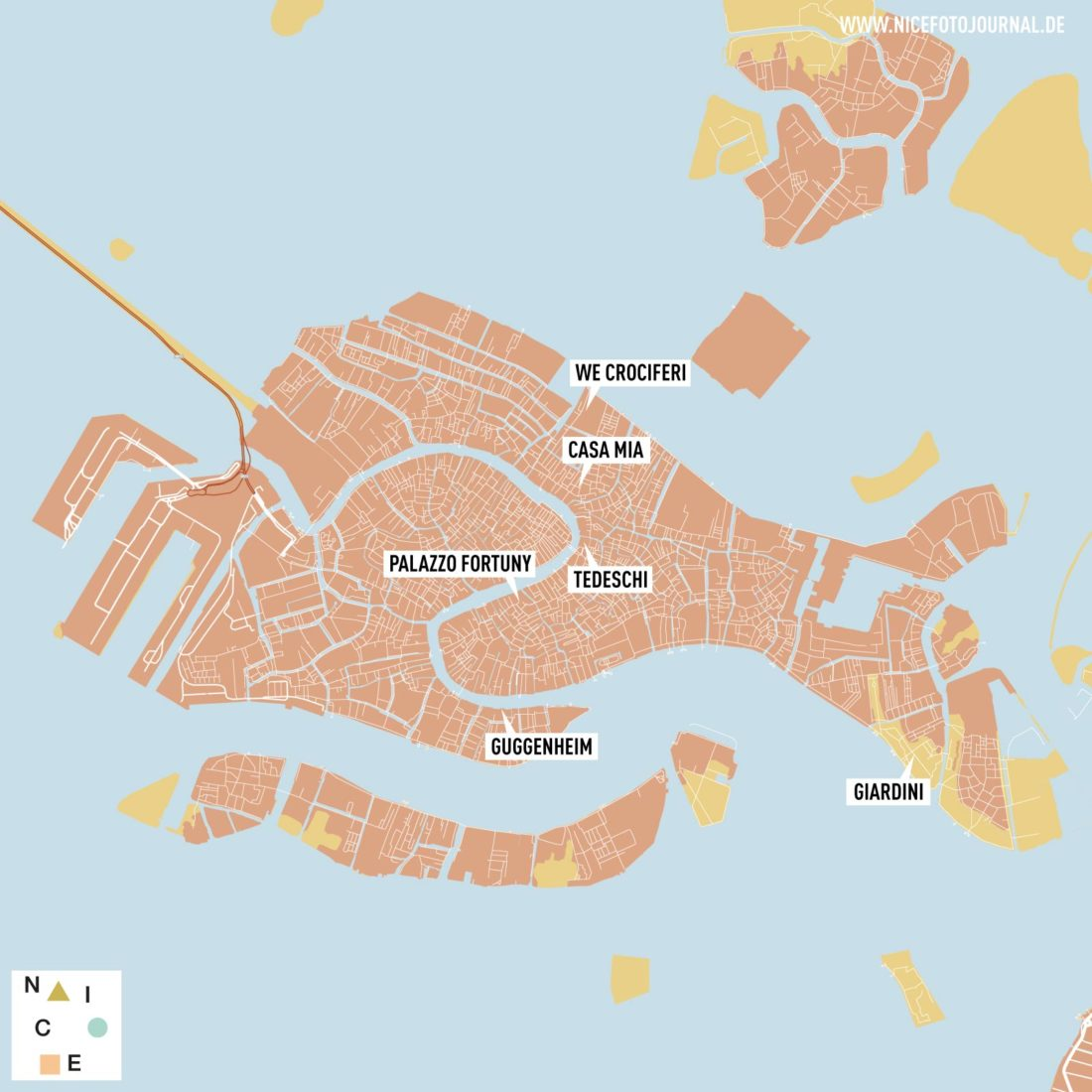 Karte Venedig Tipps
